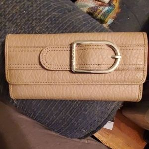 Womens Nine West leather wallet